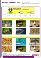 Outstanding Science Year 1 - Animals, including humans | Animals and their food