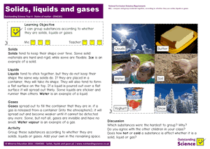 Outstanding Science Year 4 - States of matter | Solids, liquids and gases