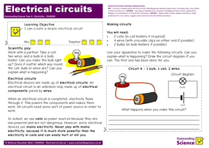 Outstanding Science Year 4 - Electricity | Electrical circuits